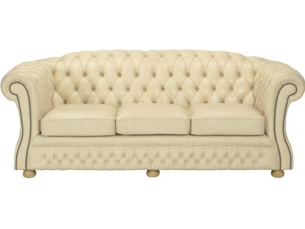 Blenheim 3 Seater - Ivory